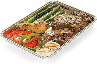 barbecook Einmalgrillschale Grillzubehör, grau, 32x2x24 cm