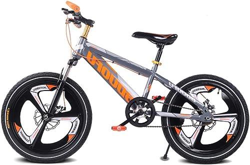 Descuento del 70% barato SJSF Y Bicicleta de Montaña para para para Niños de una Sola Velocidad, 16''18''20 '' Bicicleta Gears Road Estudiante Bicicleta de Freno de Disco Doble rojoucir la vibración Bicicleta para Niños,18inch  Mejor precio