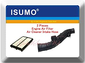 (17228-PAA-A00 ) 2 Pieces Engine Air Cleaner Intake Hose & Engine Air Filter Fits: Honda Accord 1998-1999-2000 L4 2.3l
