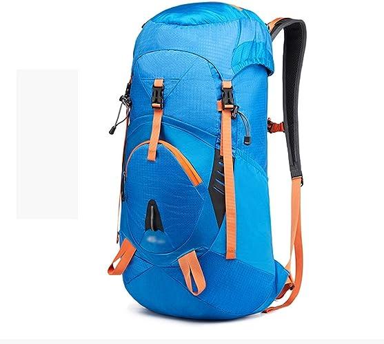 NY-close Sac d'alpinisme en Plein air, 45L Grande capacité Multi-Fonctions imperméable à l'eau de Ceinture, Sac de Voyage de Camping, Tourisme équestre Alpinisme Sports de Plein air