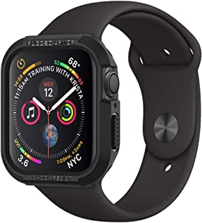 Spigen Rugged Armor Works with Apple Watch Case for 44mm Series 4 (2018) - Black