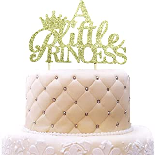 A Little Princess Cake Topper Its a Girl Pink Dress Gender Reveal Cake Topper Baby Shower Party Decorations WeBenison