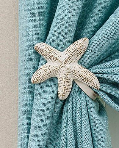 Park Designs Starfish Curtain Tie Backs