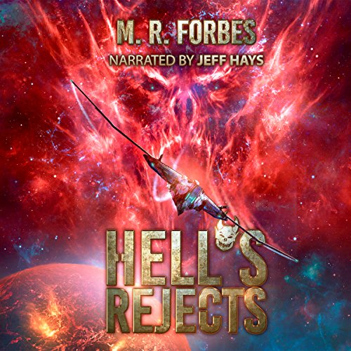 Hell's Rejects audiobook cover art