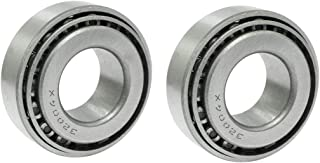 COMOK 2Pcs 32004X Tapered Roller Bearing Cone and Cup Set, 20mm x 42mm x 15mm, Silver Tone