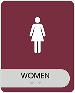 Best wall mounted restroom sign Reviews