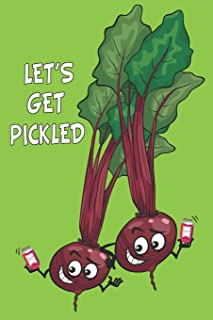 Let's Get Pickled: Fermentation Recipe Book Waiting To Be Filled With Your Kombucha, Kefir, Kimchi & Sauerkraut Fermented ...