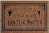 Halloween Doormat Blanket Welcome Home Front Door Decorations Halloween Decor Door Mat,Anti-Slip Bottom Durable Mat Low Profile Floor Mat Indoor Outdoor Carpet Entryway,Patio (B)