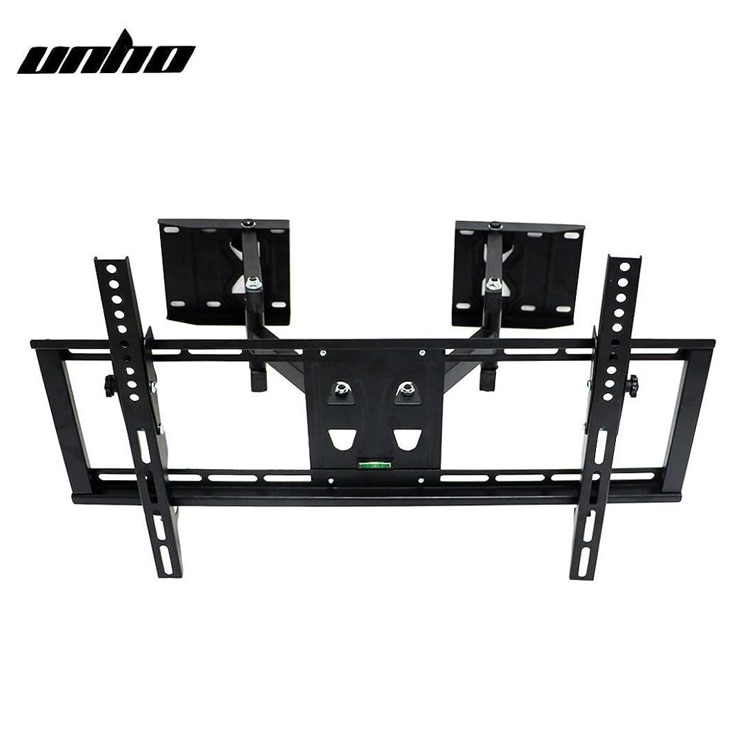 ギャロップ細部忍耐UNHO テレビ壁掛け金具 アーム式 TV壁かけ ダブルアーム 伸縮式 32~65型対応 コーナーにも設置可能 上下/左右/前後/角度調節可能 耐荷重49kg テレビ アーム
