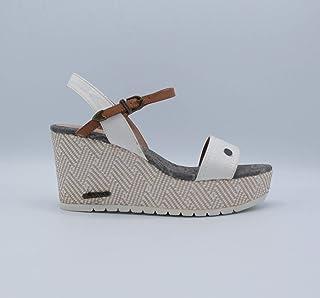 Dolgu Topuklu Deri Kadın Ayakkabı