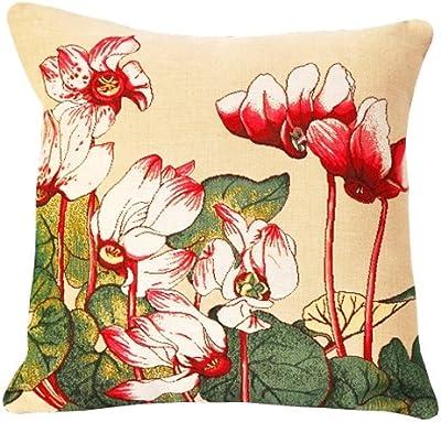 Amazon.com: AngelDOU Pillow Cotton Linen Cushion,Bouquet Set ...