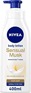 NIVEA Sensual Musk Body Lotion, Normal to Dry Skin, 400ml