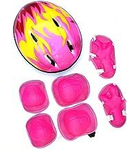 Ububiko Kids Jongens en Meisjes Beschermende Gear Set, 7 Stks Kinderhelm Knie & Elleboog Pads Polsbeschermers voor Scooter...