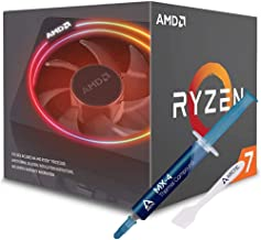 AMD Ryzen 7 2700X Processor with Wraith Prism LED Cooler + Arctic MX-4 Thermal Compound Paste for Coolers (Bundle)