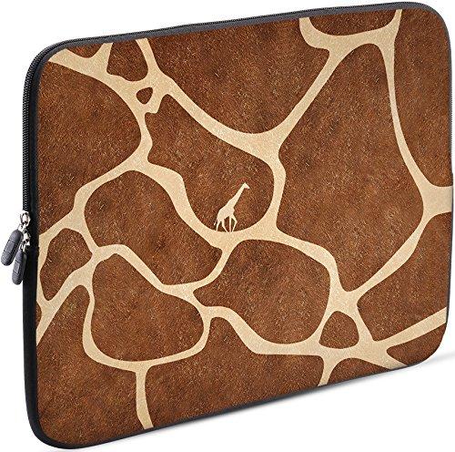Sidorenko Tablet PC Tasche für 9.7 Zoll | iPad/Samsung Galaxy/ACER Iconia One | Universal Schutzhülle | Hülle Sleeve Case Etui aus Neopren, Braun
