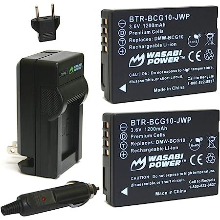 DMW-BCG10 Battery Charger For Panasonic LUMIX DMC-TZ6S DMC-TZ7 DMC-TZ7K DMC-TZ8