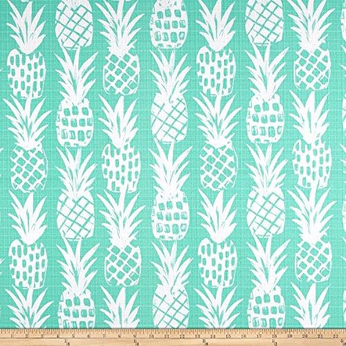 Premier Prints Luxe Outdoor Pineapple Basketweave, Yard, Surfside