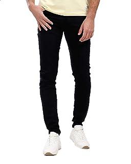 Andora Side-Pocket Solid Skinny Jeans for Men