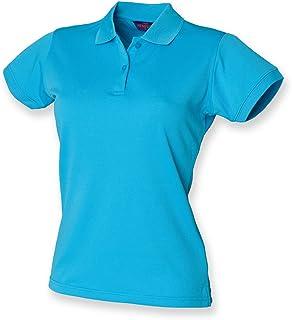 Henbury Women's Coolplus Short Sleeve Polo Shirt