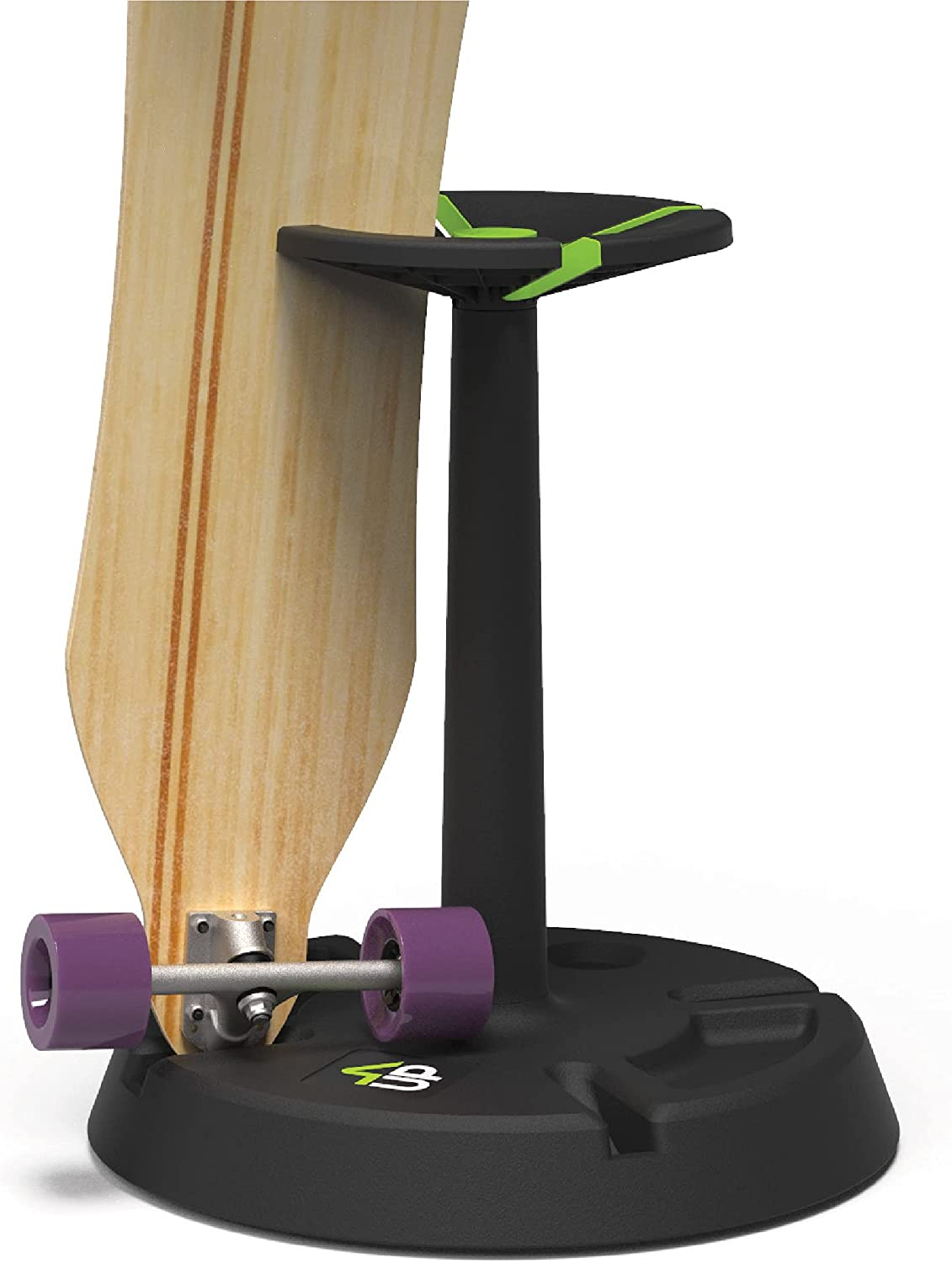 Parking Block Rotary Turntable 4-Up Skateboard wholesale Stand Display - Raleigh Mall 4