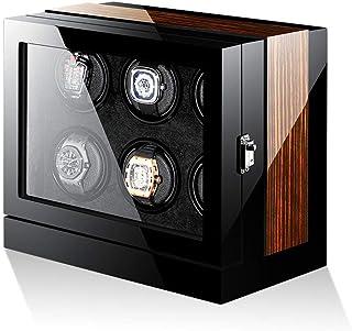FTFTO Apparecchiature viventi Scatole portaoggetti di Lusso Smart Automatic Watch Winder per 6 Orologi Watch Box + Display...