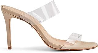 SCHUTZ Women's Ariella Heeled Sandal, Transparent