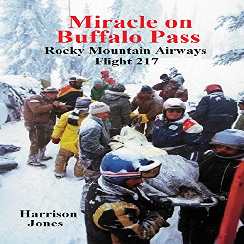 Miracle on Buffalo Pass audiobook cover art