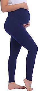 Joyaria Womens Maternity Over The Belly Leggings Pregnant Lounge/Pajama/Sleep Pants