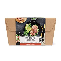 Amazon Meal Kits, Petite Tender Steak with Truffle Butter & Garlic-Chive Potatoes, Serves 2