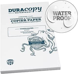 Rite in the Rain Waterproof (DURARITE) Copier Paper, 11