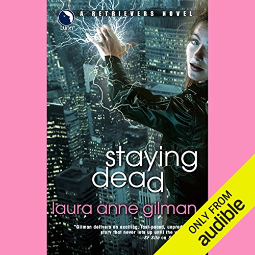 Staying Dead audiobook cover art