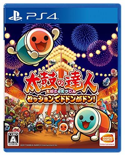 Taiko no Tatsujin Session de Dodon ga Don ! SONY PS4 PLAYSTATION 4 JAPANESE Version [video game]