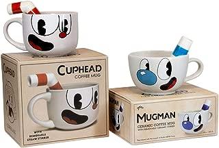 cuphead and mugman mug set