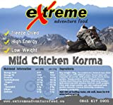 Mild Chicken Korma, Adventure and Expedition Food High energy, Low weight by Extreme