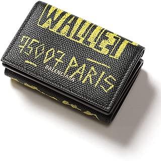 (バレンシアガ) BALENCIAGA レザー プリント スナップ 三つ折り ミニ財布 VILLE [BC5582080OTO3] [並行輸入品]