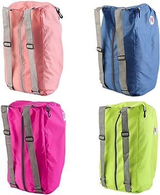 Foldable Shoulder Travel Backpack Multifunction Shopper Reuse Tote Practical Beach Shopping Traveling Bag
