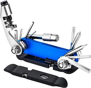 comprar comparacion Multiherramienta Bici 15 en 1, Kit Herramientas Bicicleta Plegable con Llaves Allen Mini Herramienta Multiusos de Reparaci...