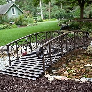 Best willow creek 8 ft metal garden bridge Reviews