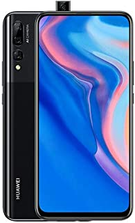 "Huawei Y9 Prime 2019 (128GB, 4GB RAM) 6.59"" Display, 3 AI Cameras, 4000mAh Battery, Dual SIM GSM Factory Unlocked - STK-LX3, US & Global 4G LTE International Model (Midnight Black, 128 GB)"