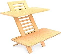 Jumbo DeskStand Standing Desk Height Adjustable Sit-Stand Desk Converter, Ergonomic Furniture