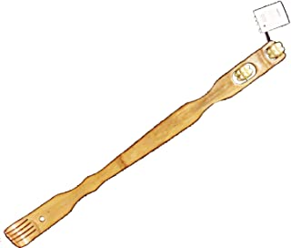 Back Scratcher 19in. Bamboo w/ Massager Rollers