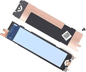 DAMOMCO 1st Slot 1 M.2 2280 NVMe SSD Heatsink Pad Cover Hard Drive Heat Shield 6N16 06N16 for Dell XPS 15 9510, Dell Precision 5560 15.6