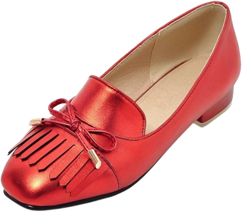 AicciAizzi Women Fashion Slip On Pumps shoes