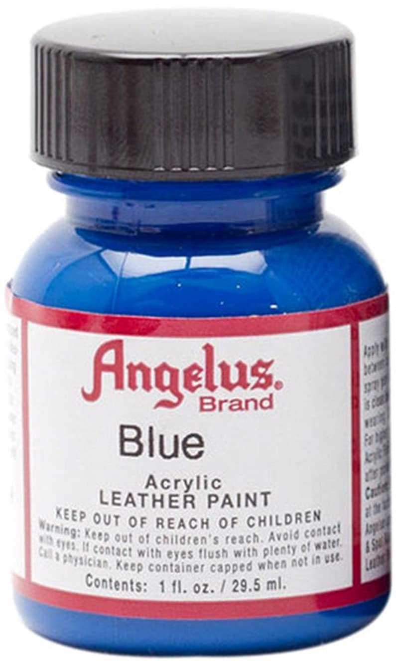 Angelus Acrylic Paint 1 Oz. (Blue)
