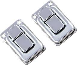2 x roestvrij staal spansluiting kratsluiting cap slot sluiting - #2