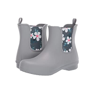 Crocs Freesail Chelsea Boot (Tropical Floral/Light Grey) Women