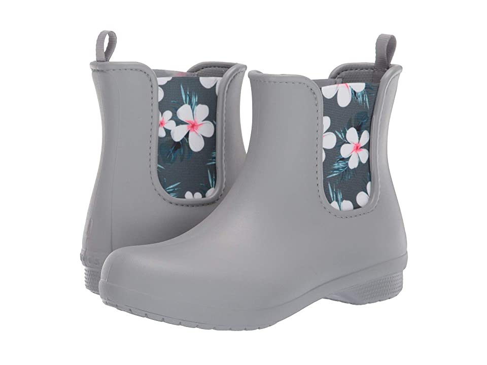 Crocs Freesail Chelsea Boot (Tropical Floral/Light Grey) Women