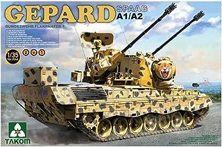 TAKOM 1/35 西ドイツ陸軍 ゲパルト自走対空砲 A1/A2 2 in 1 プラモデル TKO2044