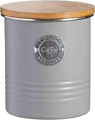 Typhoon Living Coffee Canister, Grey, 1400.732V