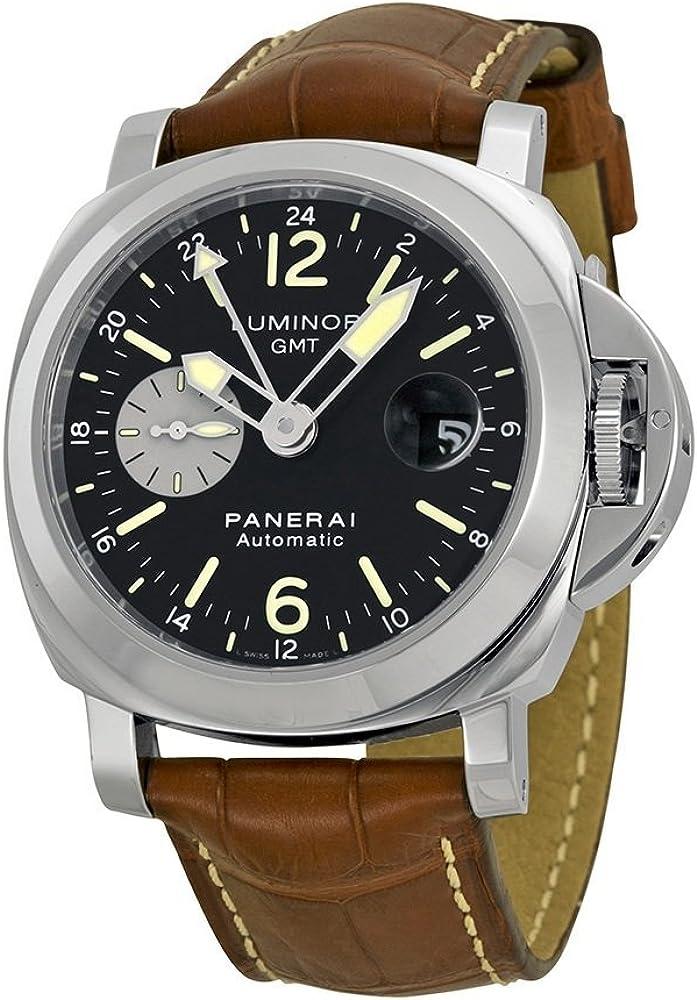 Officine panerai orologio uomo automatico in acciaio e pelle PAM00088